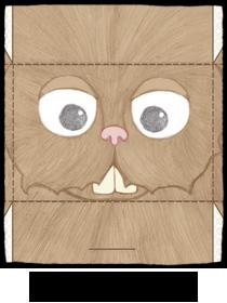 rabbit-papertoy